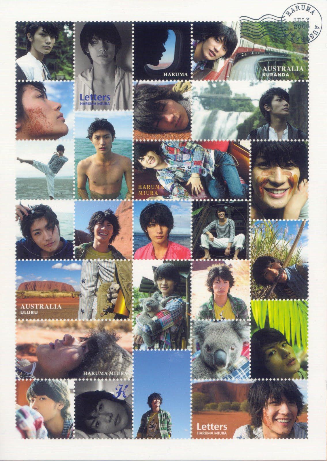 Miura Haruma MH-L-sticker
