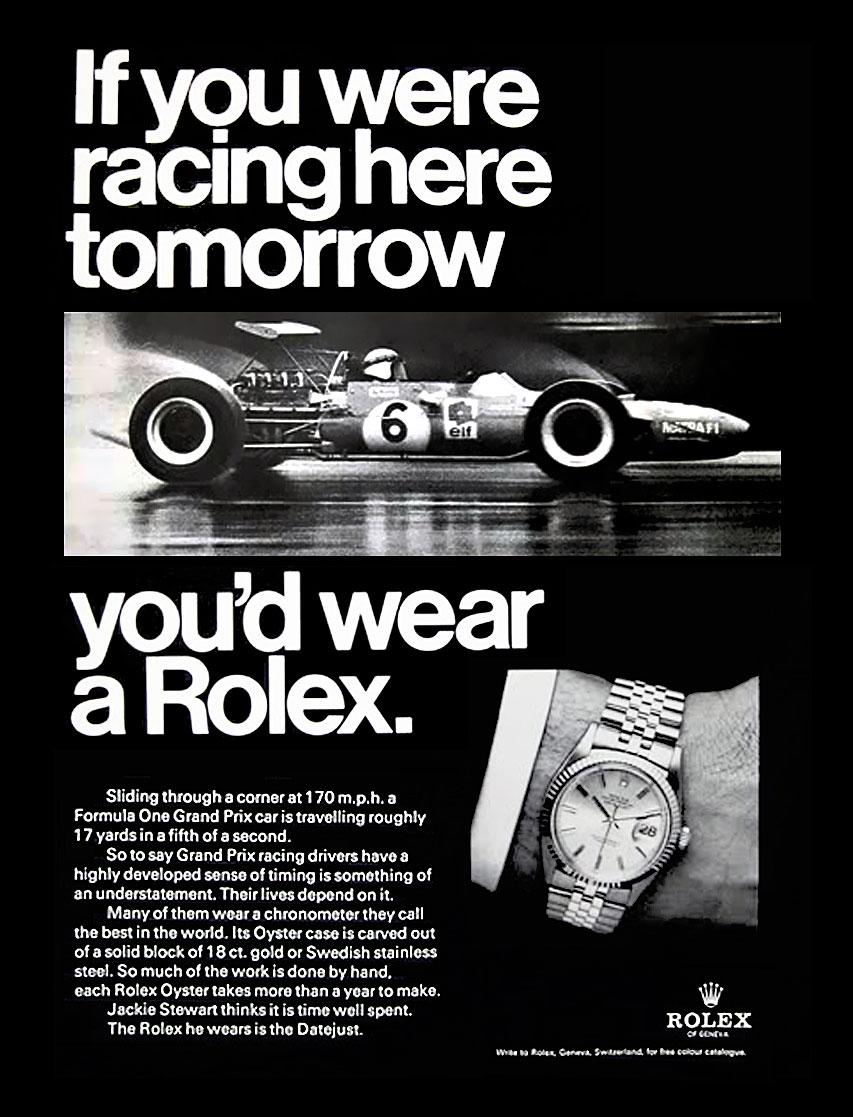 Una cesta llena de Rolex - Página 2 Jackie-Stewart-Rolex-Racing-Ad