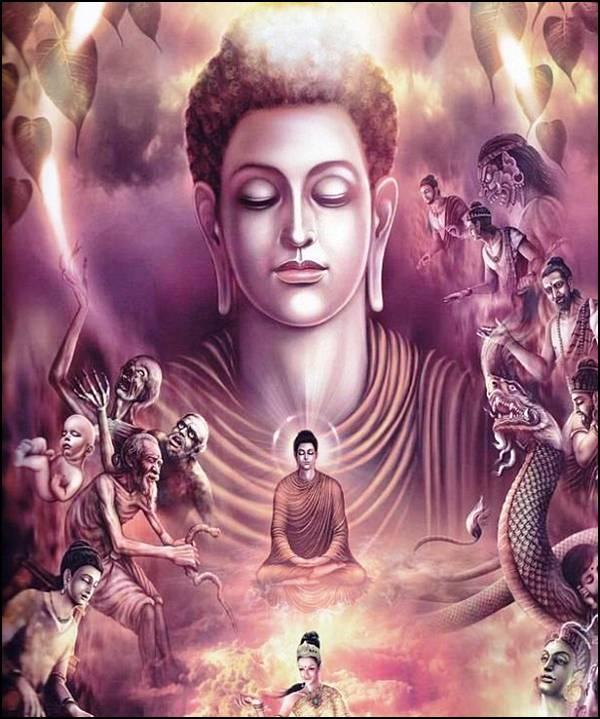 புத்தரின் வாழ்க்கை வரலாறு, படங்களுடன்... 17
