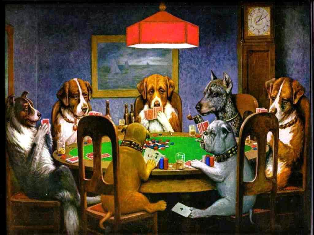 SALUD Dogs-poker