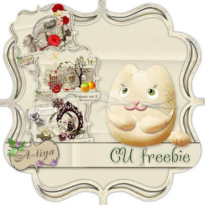 CU Kitty Cat Freebie By: A Lya's Dreams A-liya_CUDmixes_freebie_preview