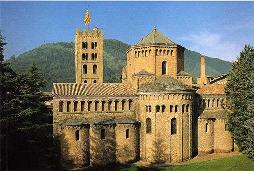 13b. Arte Románico en España Monasterio-de-santa-maria-de-ripoll