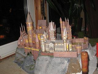 sapin, décos Noël HP Harry-potter-hogwarts-castle-papercraft-01