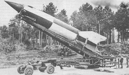 El Misil balistico aleman V2 V2nazx