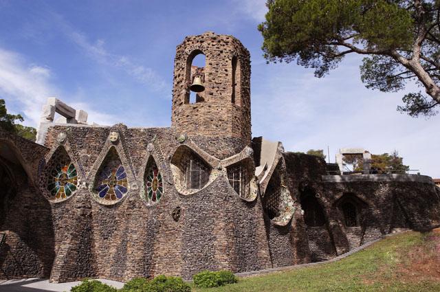 Gaudijeva arhitektura AGAUDI050556