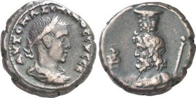 Tetradracma de Maximino I. L B - Serapis. Alexandria 02