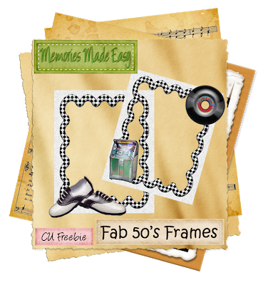 Fab 50's Frames (Memories Made Easy) MME_Fab50sFrames_Preview