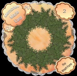Pine Wreaths 1-4 (CU OK) {Memories Made Easy} PineWreath_2_PREVIEW