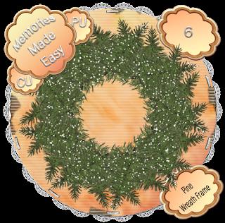 Pine Wreaths 5-8 (CU OK) {Memories Made Easy} PineWreath_6_PREVIEW