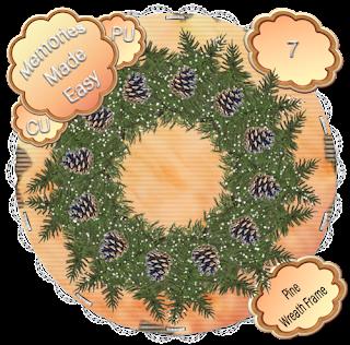 Pine Wreaths 5-8 (CU OK) {Memories Made Easy} PineWreath_7_PREVIEW