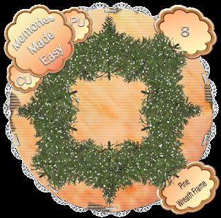 Pine Wreaths 5-8 (CU OK) {Memories Made Easy} PineWreath_8_PREVIEW