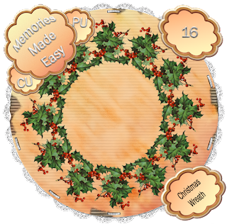 Christmas Wreaths 16-17 (CU OK ) {Memories Made Easy} ChristmasW16_PREVIEW