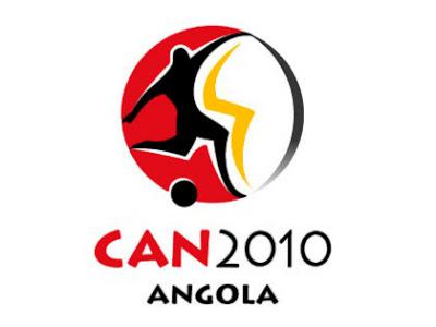 COLLECTION D'ECUS ET DRAPEAU DE FOOTBAL Angola_can_2010