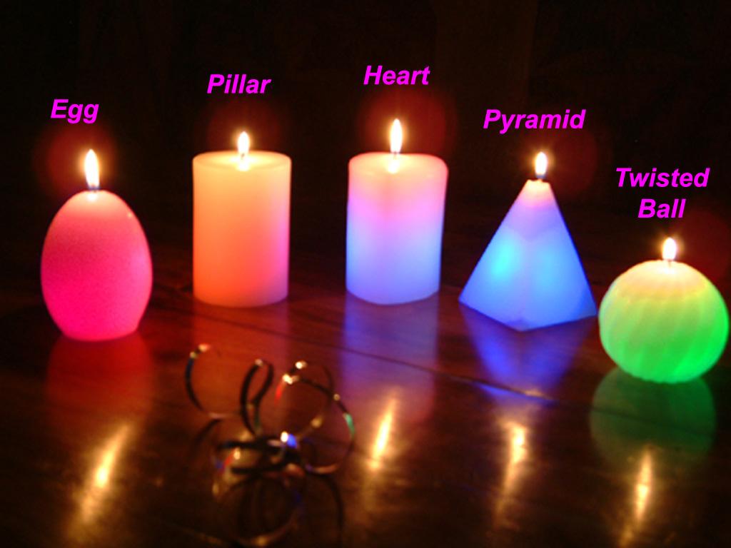 Svece  u svim varijantama Candles%255B1%255D