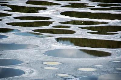 البحيرة المرقطة               Spotted-lake-kliluk