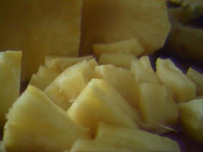 Ceviche Pasión Tropical / Receta Original por José Manuel López Pinto Pineapple