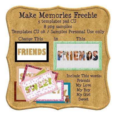 Make Memories Freebie Templates By: Lisete Liset%40scrap_makememoriesfreebie