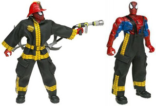 Coleção absurda de Spider-Man! Firefighter