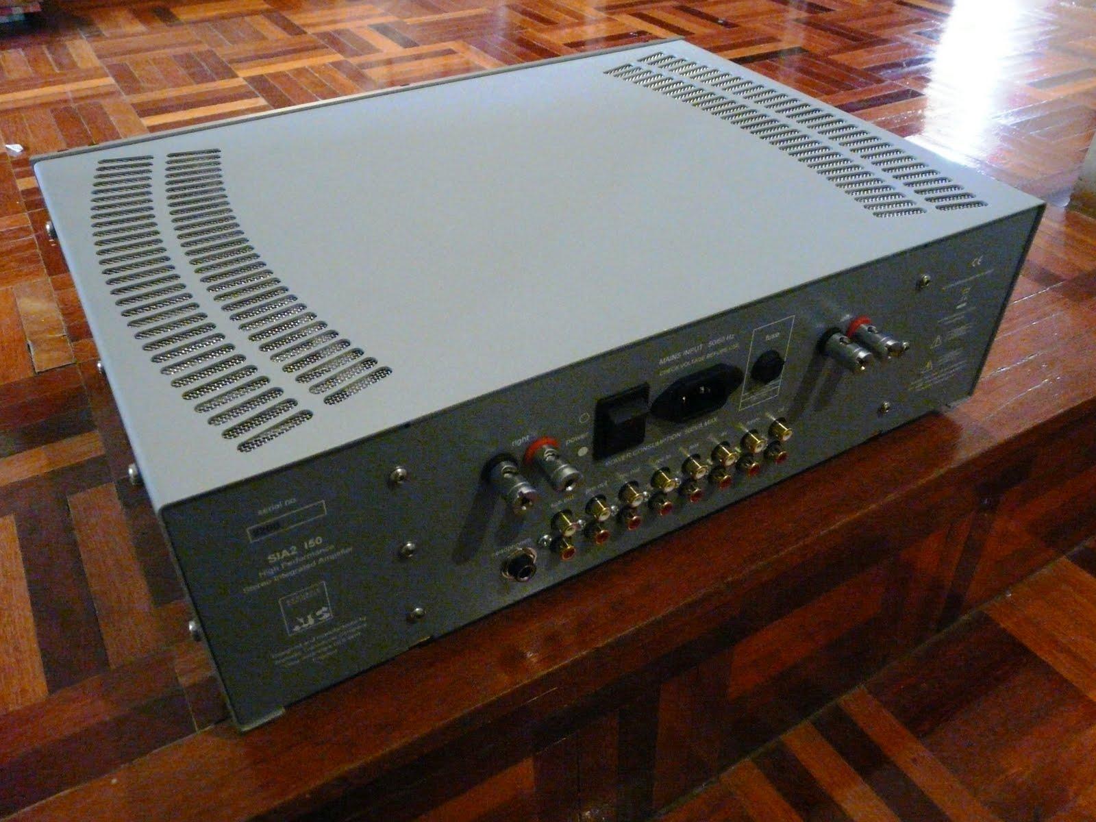 Amplificador para una ATC SCM40 P1090498
