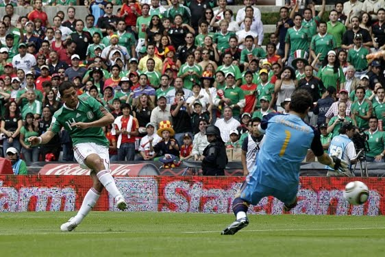 Save Us Neymar, Save Us Cavani, Save Us Messi. Latin America joins Anti-Spaniard Fleet Chicharito_Mejico