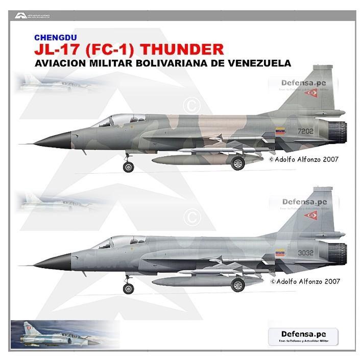 FUERZA AEREA VENEZOLANA. - Página 2 Jf-17_Venezuela