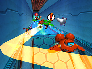 Sonic Heroes, présentation Screen121