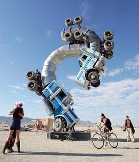 Burning Man , el festival del desierto  Burning_Man_Festival