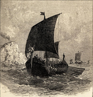 Colón descubrió América, pero no fue el primero en llegar Vinlandviking-ship