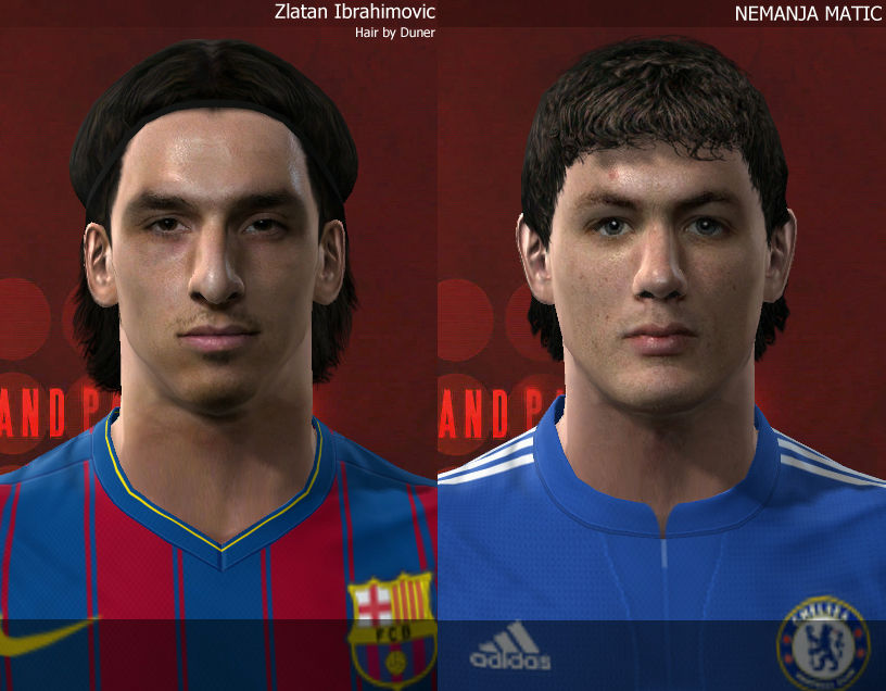 Ibrahimovic & Matic Faceleri Preview