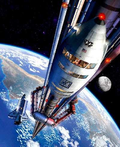 The University of Solar System Studies - Page 29 Space-elevator