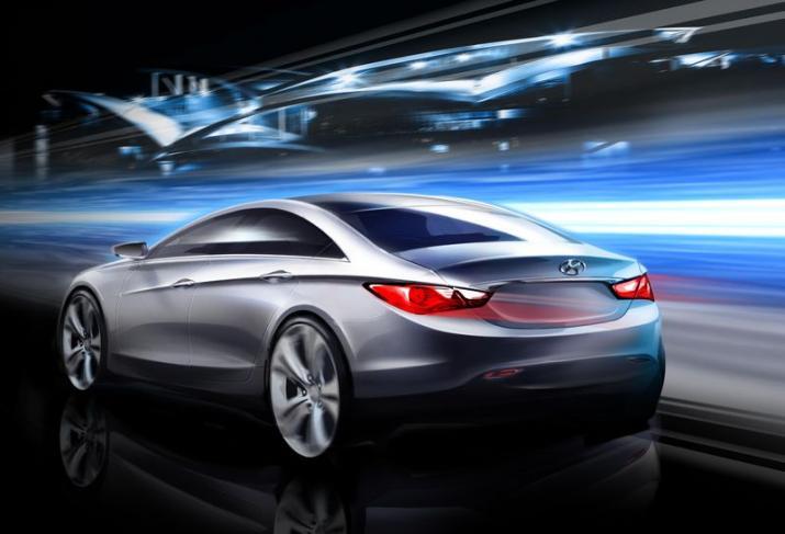 [Présentation] Le design par Hyundai 2011-Hyundai-Sonata-Sketch-2