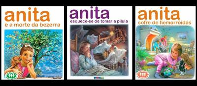 [HUMOR] Descoberta a coleção da Anita destruída no bidão!!!! 1