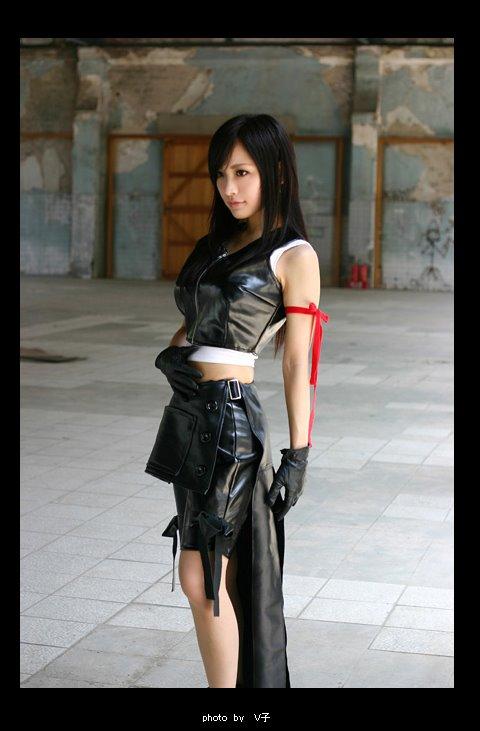 Cosplay Final Fantasy VII Advent Children New3op6eh8