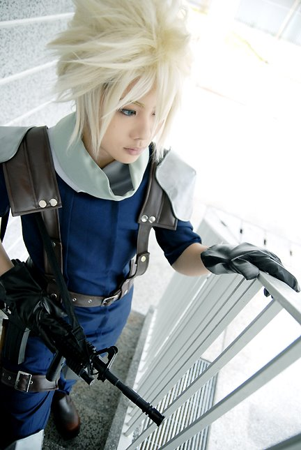 Cosplay Final Fantasy VII Crisis Core Crisis_Core__Cloud_Strife__by_Jesuke