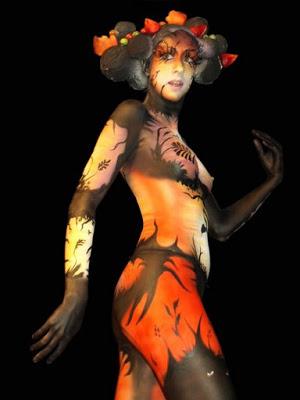 Album ảnh nghệ thuật body painting tuyển chọn. Body-paint-gallery-30
