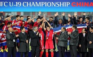 Selección coreana gana el campeonato asiático sub-19 Tropy_presentation_newslead