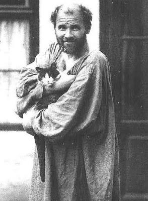 Manierismo. - Página 6 Gustav_Klimt_entrada_estudio