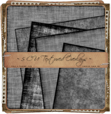 5 CU OK Textured Overlays in both full and tagger sizes by Dark Yarrow 5TexturedOverlaysPreview_Yarrow