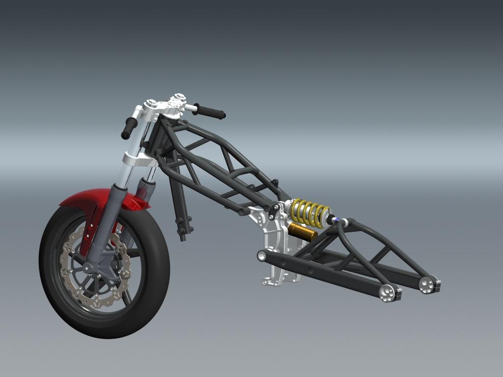 LC4 640 Racer... en 3D !!  Vun