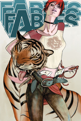 [Comic] Bill Willingham (Fables) JamesJean_Fables_tiger