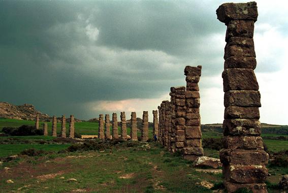 Excavaciones : Los Bañales  BANALES1