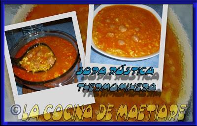 Sopa rústica thermomixera Collage7