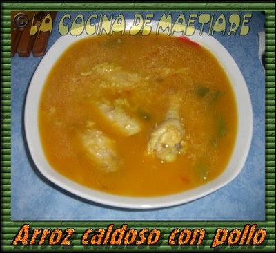 Arroz caldoso con pollo CIMG8761