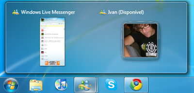 Como remover a dupla janela do Windows Live Messenger na Taskbar do Windows 7 Msn1