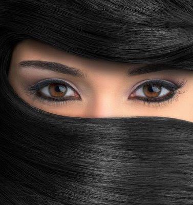 Neka oči govore Hijab_hair