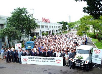 """Uma lenda """" Land Cruiser (Toyota Bandeirantes) - o Indestrutível """" Bandeirante-fechamento"""