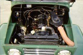 """Uma lenda """" Land Cruiser (Toyota Bandeirantes) - o Indestrutível """" Landcruiser-1961-motor"""
