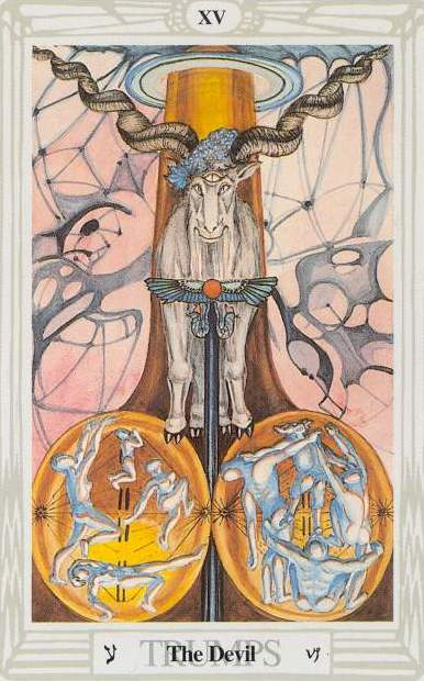 Tarot & Perspectives of a student. 15_major_devil
