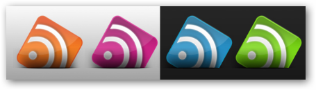 Những bộ RSS Feed Icon tuyệt đẹp RF8