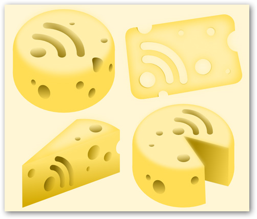 Những bộ RSS Feed Icon tuyệt đẹp RF11